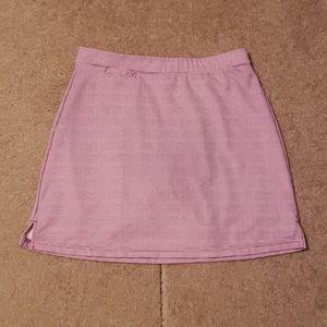 Peter Millar Women's Purple Dot Print Golf Skirt